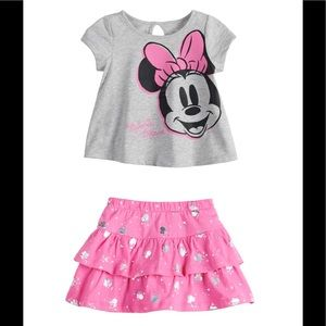 Baby girl mini mouse outfit